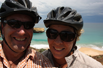 Photo: Year 2 Day 143 - Us Two on the Great Ocean Road