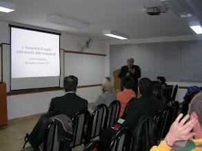 """Photo: Conferencia Prof. Margiotta """"L'insegnante di Qualità"""", 29 Abril 2008, Instituto de Cultura Italiana Leonardo Da Vinci, La Plata, Argentina"""