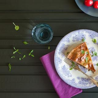 Aubergine And Mushroom Pie