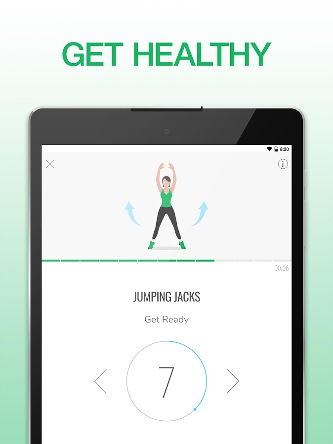 7 Minute Workout: Exercise & Fitness App- screenshot