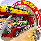 Vehicle Transporter Trailer Truck Game icon
