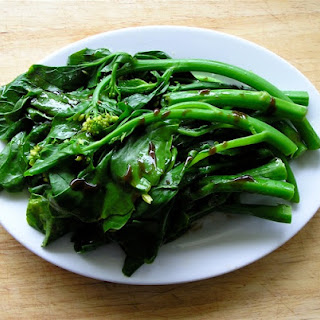 Hao You Jie lan (Oyster Sauce Chinese broccoli)