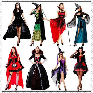 Halloween必備 cosplay服 (女巫服2) 售價 : HKD 75~160  #halloween #cosplay #女巫