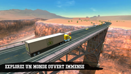 Truck Simulation 19  captures d'u00e9cran 2