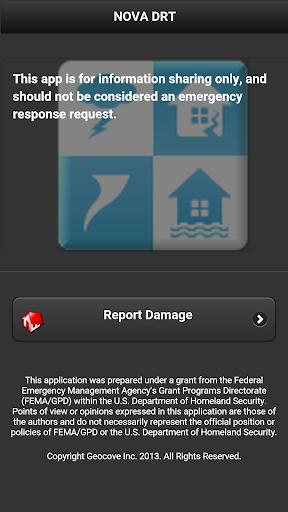 NOVA Damage Reporting Tool