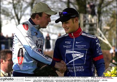 Tom Boonen schitterde al bij debuut in Parijs-Roubaix met derde plaats
