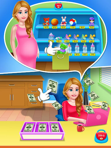 Mommy & newborn baby shower - Babysitter Game 21.0 screenshots 6