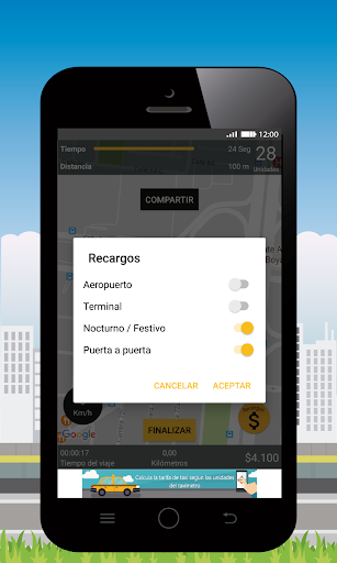 Taxi Fare GPS 3.4.3 screenshots 8