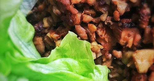 Chinese Duck Lettuce Wraps with Duck Bone Soup 鴨鬆生菜包   鴨骨湯