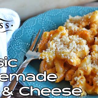 Classic Homemade Macaroni and Cheese.