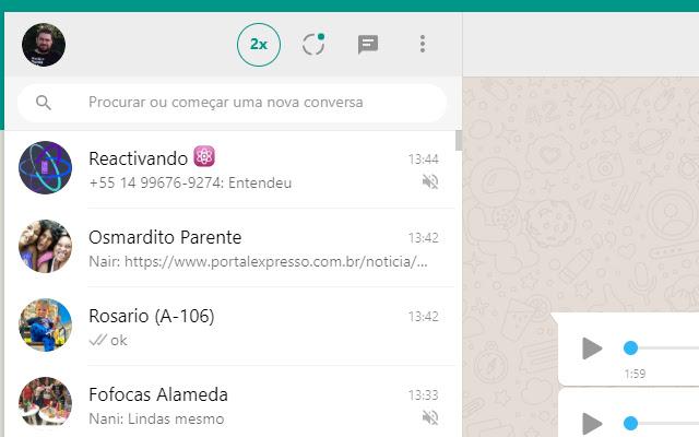 Whatsapp Audio 2x