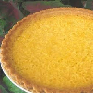 Mock Coconut Pie (Spaghetti Squash Pie).