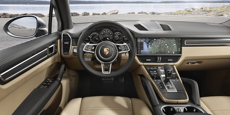 The interior is as much about engineering and technology as it is about design. Picture: PORSCHE