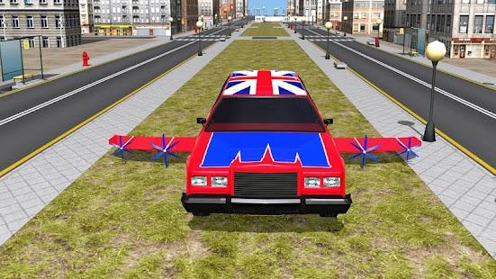 Flying Limo Car Driving Fever - náhled