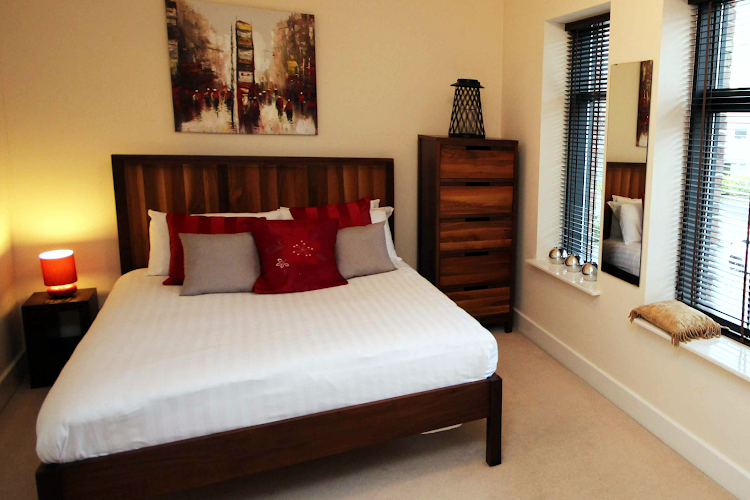 Double bed bedroom at Lime Square