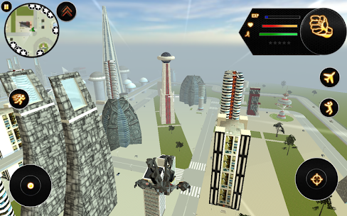 Future Robot Fighter Apk Download For Android and Iphone 5