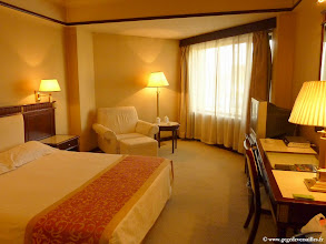 Photo: #014-La chambre de l'hôtel Yun Shan à Chengde