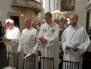Photo: tři kněží z konického a olomouckého děkanátu