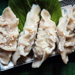 The Best Pork & Coriander Dumplings.