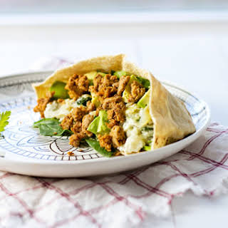 Ground Turkey Pita Pockets.