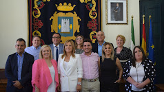 Nuevo equipo de Gobierno del Ayuntamiento de Níjar.