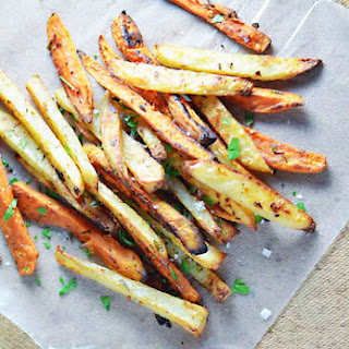 Beer-Soaked Garlic and Rosemary Fries