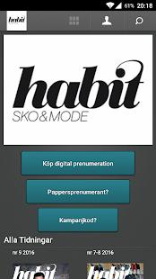 Habit Sko&Mode screenshot