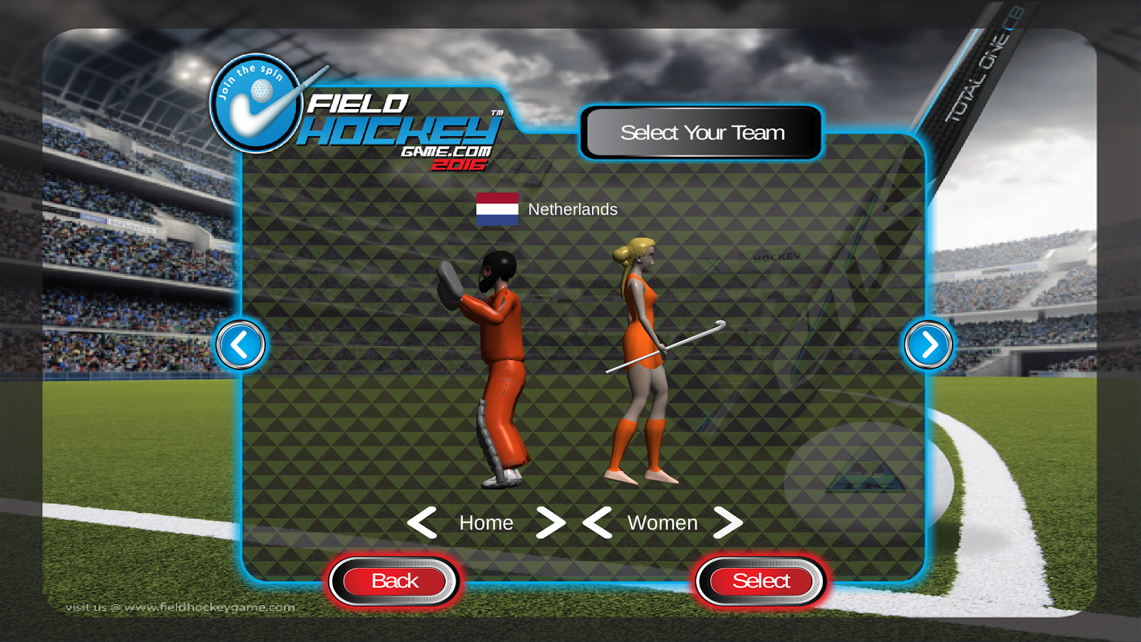 Field Hockey Game 2016- screenshot