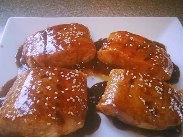 Teriyaki Honey Salmon Recipe