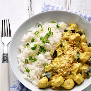 Eggplant Chicken Curry.