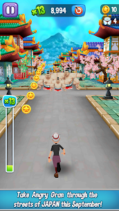 Angry Gran Run MOD APK (Unlimited Money) 2