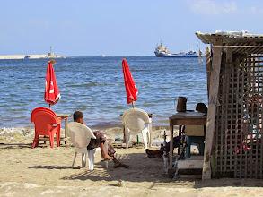 Photo: shisha en la playa