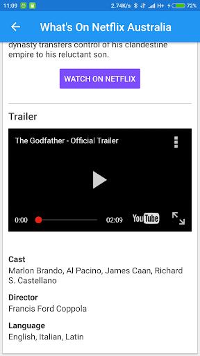 What's on Netflix Australia 1.2.3 screenshots 1