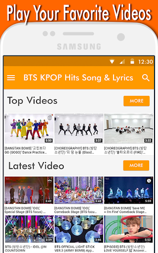 BTS KPOP Hits Song & Lyrics 1.0 screenshots 6