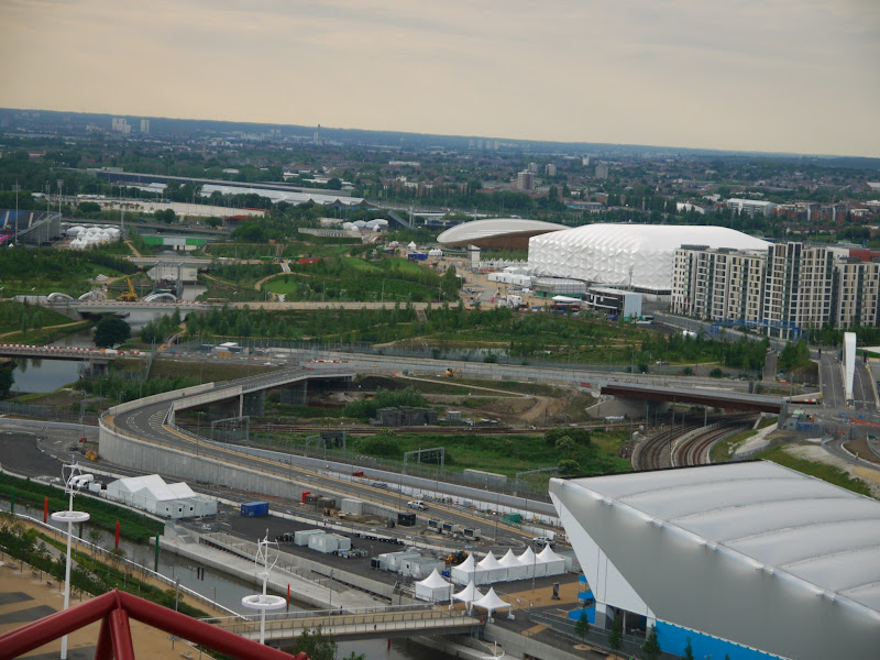 Photo: Looking over the Olympic Park towards the Velodrome and Basketball Arena