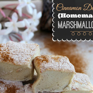 Cinnamon Covered Paleo Marshmallows (with chocolate dipped option).