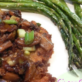 Ginger Soy Chicken with Mushrooms.