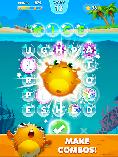 Bubble Words - Word Games Puzzle - screenshot