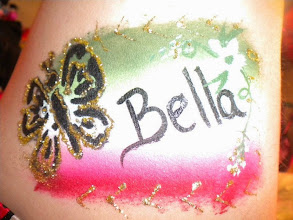 Photo: Body art and body painting by Bella the Clown, Colton, Ca Call to book Bella today at 888-750-7024