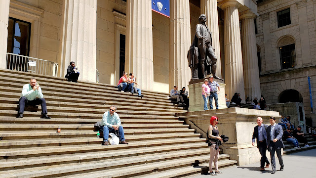 Steps of Federal Hall