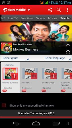 Airtel Mobile TV (Bangladesh) 5 screenshot 253572