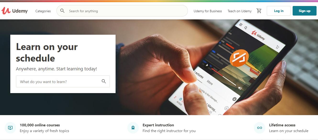 Online Learning Platform - Udemy