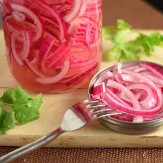 Cider Vinegar Pickled Onions Recipes.