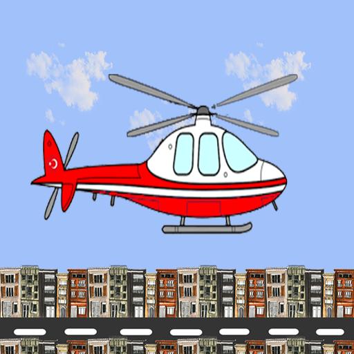 Şehirde Helikopter