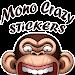 Mono Crazy - Monkey WAStickerApps icon