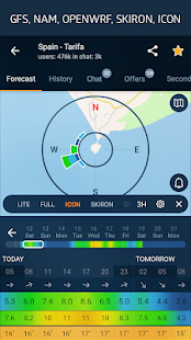 WINDY APP: wind forecast & marine weather Screenshot