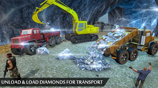 Grand Excavator Simulator - Diamond Mining 3D screenshot 8