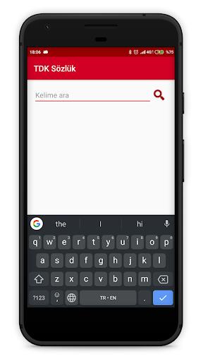 TDK Güncel Türkçe Sözlük screenshot 1
