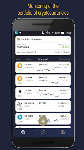 CoiNsider - Gane dinero con las tasas de Bitcoin screenshot 3