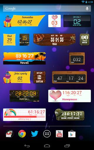 Countdown Widget screenshot 12